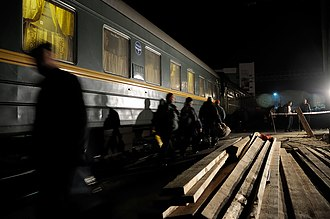 Trans-Siberian Railway - The Trans-Siberian is a vital link to the Russian Far East.