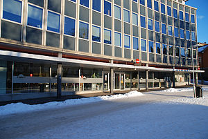 Norwegian Labour and Welfare Administration - The NAV offices of Hamar.