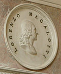 Tribuna, medaglione di lorenzo magalotti.JPG