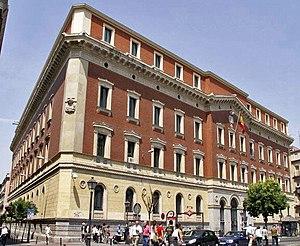 Sede del Tribunal de Cuentas de España, en Madrid.