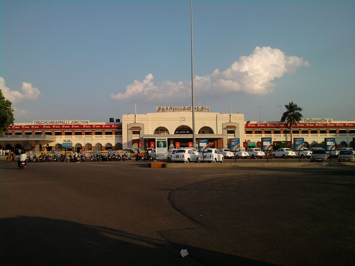 Image result for trichy railway junction