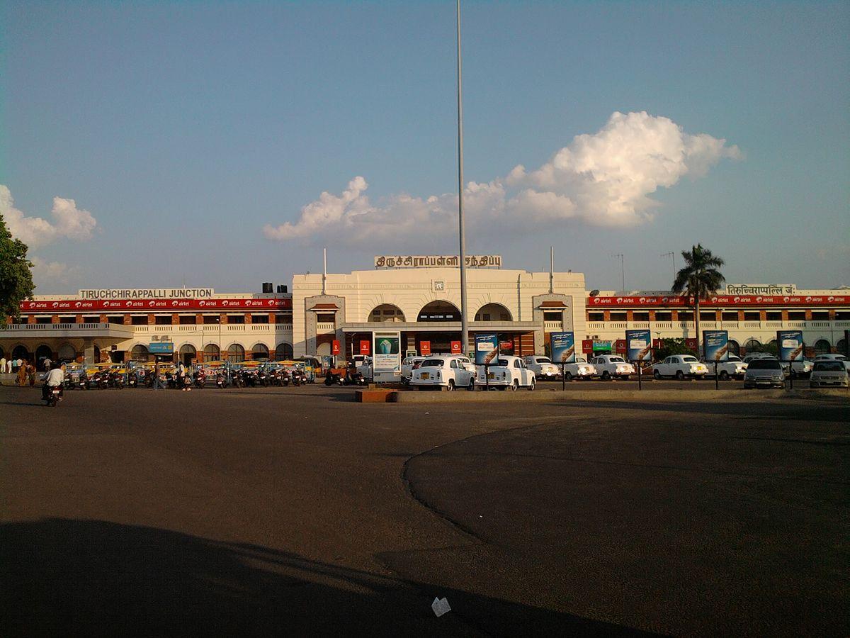 Tiruchirappalli Junction railway station - Wikipedia