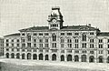 Trieste piazza grande e palazzo municipale xilografia di Barberis.jpg