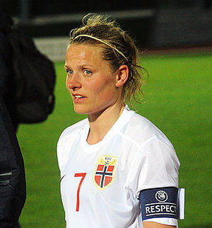 Trine Rønning - Rønning at the 2015 Algarve Cup