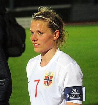 Trine Rønning - Rønning at the 2015 Algarve Cup