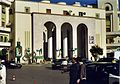 Tripoli, Libya - portraits of Colonel Gaddhafi,flags of Sierra Leone,, nov 2004 (6231144443).jpg