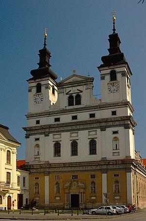 Trnava - Cathedral of St. John the Baptist in Trnava