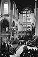 Troonswisseling 30 april , inhuldiging in Nieuwe Kerk overzicht, Bestanddeelnr 930-8054.jpg
