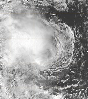 2005–06 Australian region cyclone season - Image: Tropical Cyclone 02S 2005