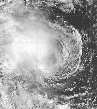 2005–06 Australian region cyclone season - Image: Tropical Cyclone 02S 2005