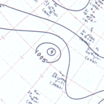 Tropical Storm Irah surface analysis September 13, 1963.png