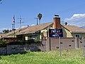 Trump Pence 2020 banner, Burbank, California, USA (49762392011).jpg