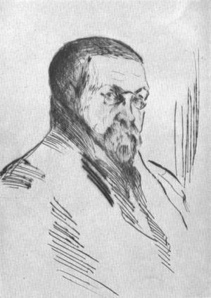 Tryggve Andersen - Portrait by Henrik Lund.