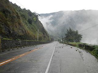 Aspiras–Palispis Highway road in the Philippines