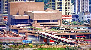1980s in Hong Kong - Tuen Mun Town Hall, a performing arts centre opened in 1987