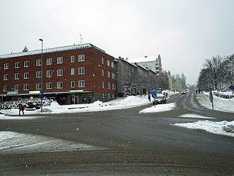 Tumba, Sweden - Tumba in February 2006