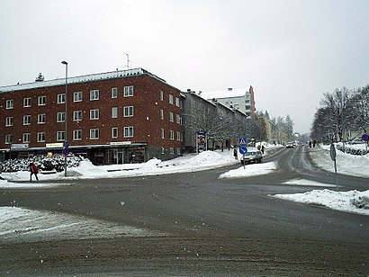 How to get to Tumba Centrum with public transit - About the place