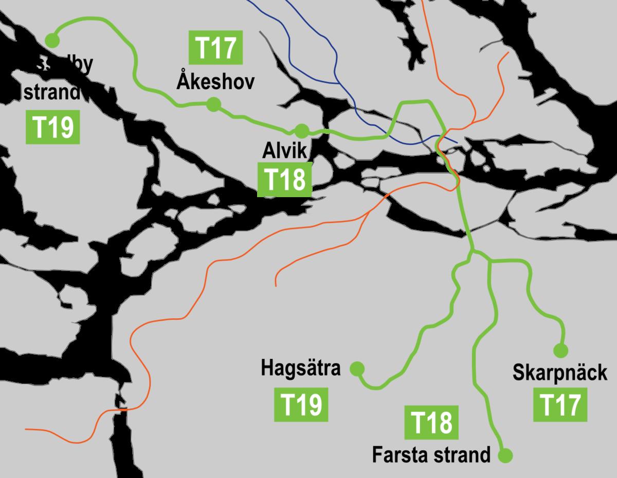 Linea verde metropolitana di stoccolma wikipedia for Linea verde favaro