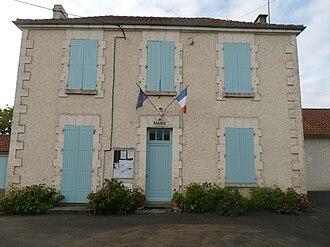 Turgon, Charente - Town hall