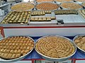 Turkish desserts at a food market in Ankara.jpg
