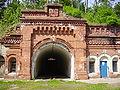 Twierdza Osowiec. Fort I-tunel zach..JPG