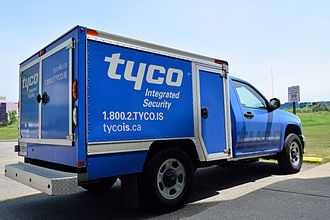 Tyco International - A Tyco vehicle.