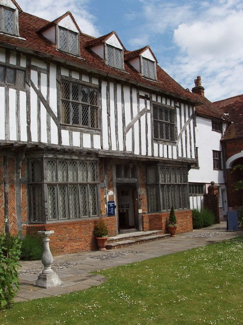 Tymperleys, 15th Century house in Colchester - geograph.org.uk - 189178