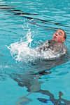 U.S. Army Sgt. Nicholas Peterson, a health care specialist assigned to the 5502nd U.S. Army Hospital, participates in the combat water survival event during the Army Reserve Medical Command's Best Warrior 130323-A-HZ691-943.jpg