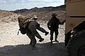 U.S. Marines with Transportation Support Company, Combat Logistics Regiment 2, 2nd Marine Logistics Group, undergo realistic scenarios while executing a combat logistics patrol exercise during Enhanced Mojave 120922-M-KS710-024.jpg
