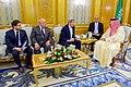 U.S. Secretary John Kerry, U.S. Ambassador Joseph Westphal, and Chief of Staff Jon Finer Sit With Crown Prince Muhammad bin Nayef (26752709030).jpg