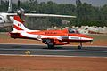 U2484 HAL HJT-16 Kiran Indian Air Force ( Surya Kiran Aerobatic Team ) (8414605364).jpg