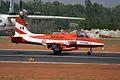 U2484 HAL HJT-16 Kiran Indian Air Force ( Surya Kiran Aerobatic Team ) (8414605364).jpg