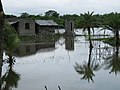 UDDT withstanding flooding from Cyclone Aila 2009 (5634148621).jpg