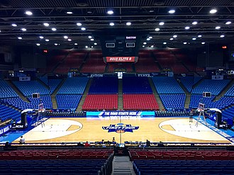 UD Arena - Floor used for First Four, 2017