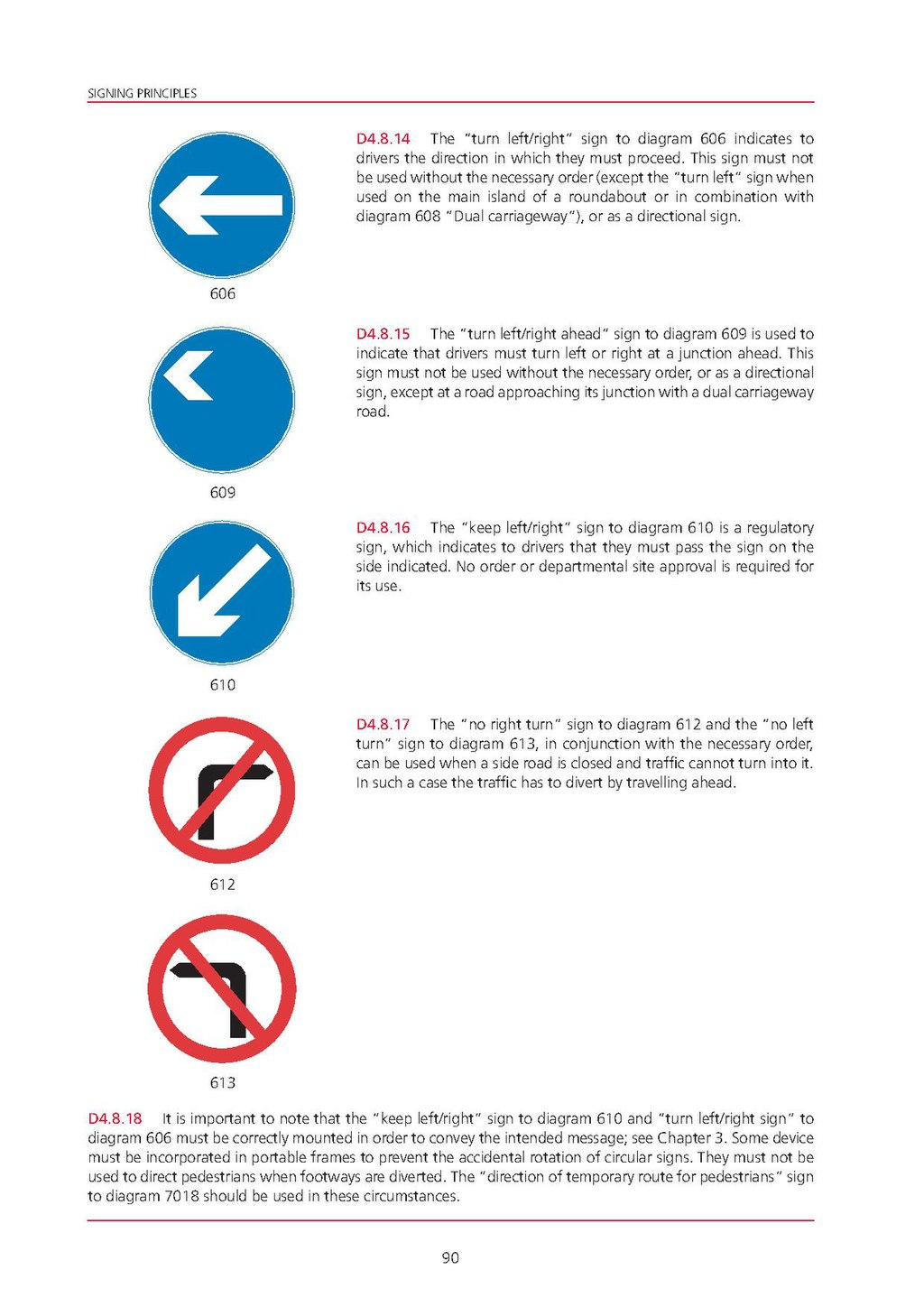 Page Uk Traffic Signs Manual - Chapter 8