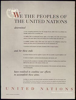 UNITED NATIONS - PREAMBLE TO THE CHARTER OF THE UNITED NATIONS - NARA - 515901.jpg