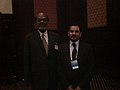 UNO Conference 2011 in Turkey (Asif Bhutta with a Great leader).jpg