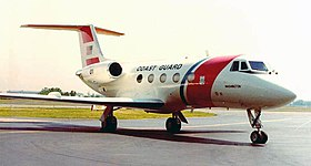 Gulfstream II de l'U.S. Coast Guard