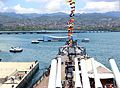 USS Arizona Memorial from USS Missouri @ Pearl Harbor, Oahu, Hawaii - panoramio.jpg