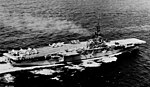 USS Essex (CVA-9) underway in the South China Sea on 26 August 1956.jpg