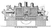 USS Monadnock (1863) vibrating-lever engine