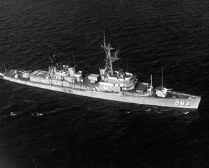 USS Newman K. Perry (DD-883) underway in mid-1970s.jpg