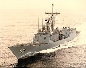 USS Reuben James FFG-57
