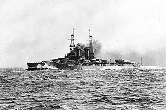 Wyoming-class battleship - Image: USS Wyoming BB 32 circa 1912 13