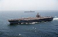 US Navy 000722-N-7412M-005 USS Eisenhower ^ USS George Washington.jpg