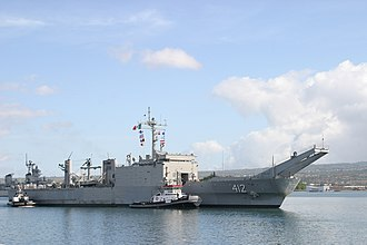 USS Frederick (LST-1184) - ARM Usumacinta in 2003