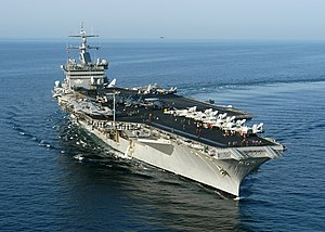 US Navy 031021-N-6259P-002 USS Enterprise (CVN 65) steams toward the Arabian Gulf while on their six-month.jpg