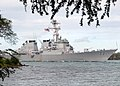 US Navy 070820-N-5476H-039 Guided-missile destroyer USS O'Kane (DDG 77) passes hospital point as she returns to her homeport at Naval Station Pearl Harbor after a 7.5-month deployment.jpg