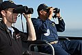 US Navy 080616-N-5487R-002 Following the lead of Cmdr. David McFarland, commanding officer of the guided-missile destroyer USS Laboon (DDG 58), NASCAR driver Brad Keselowski, driver of the No. 88 Navy Accelerate Your Life Chevr.jpg