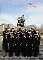 US Navy 100113-N-0555B-833 Rear Adm. Robin L. Graf, center front row, deputy commander of Navy Recruiting Command,.jpg